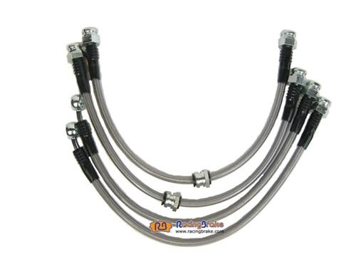 Racing Brake Stainless Steel Brake Line Kit
